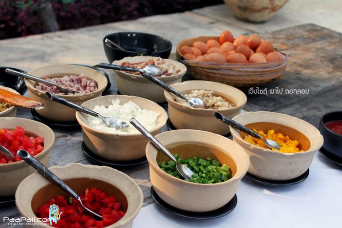 อาหารเช้า Evason Hua Hin ปราณบุรี