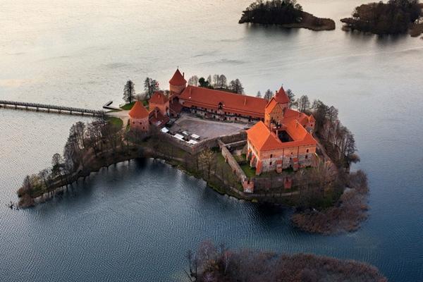 เกาะ Trakai Island Castle, ประเทศลิทัวเนีย