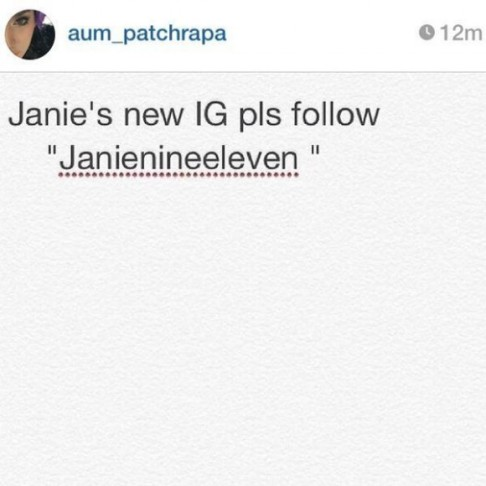 janienineeleven (เจนี่ 911)