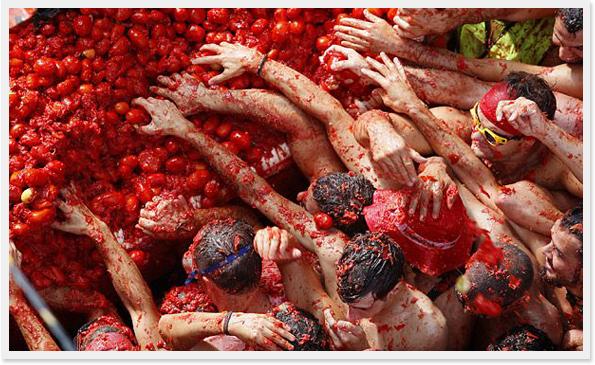 La Tomatina en Espana  (3)