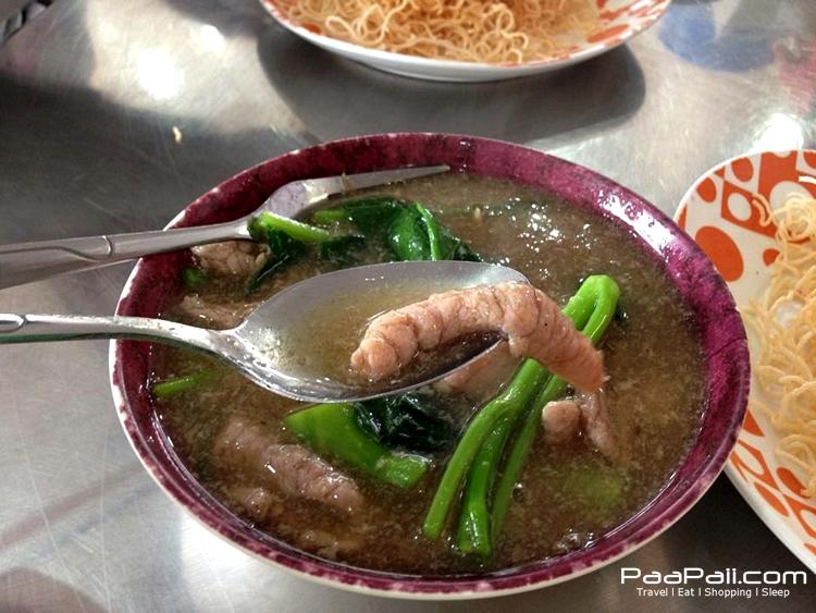 ราดหน้ายอดผัก เมืองทองธานี (8)